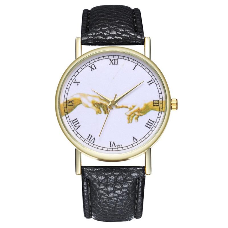 ¡Novedad de 2019! relojes de cuero de moda para mujer, relojes vintage con estampado retro, reloj M23