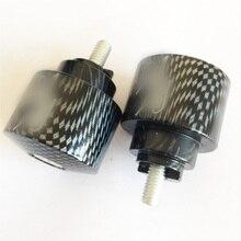 Aftermarket freies verschiffen motor teile Hand Bar Ends Für Honda CBR 250 600 900 929 954RR 1100 RR CBR1100XX RC51 CARBON FASER