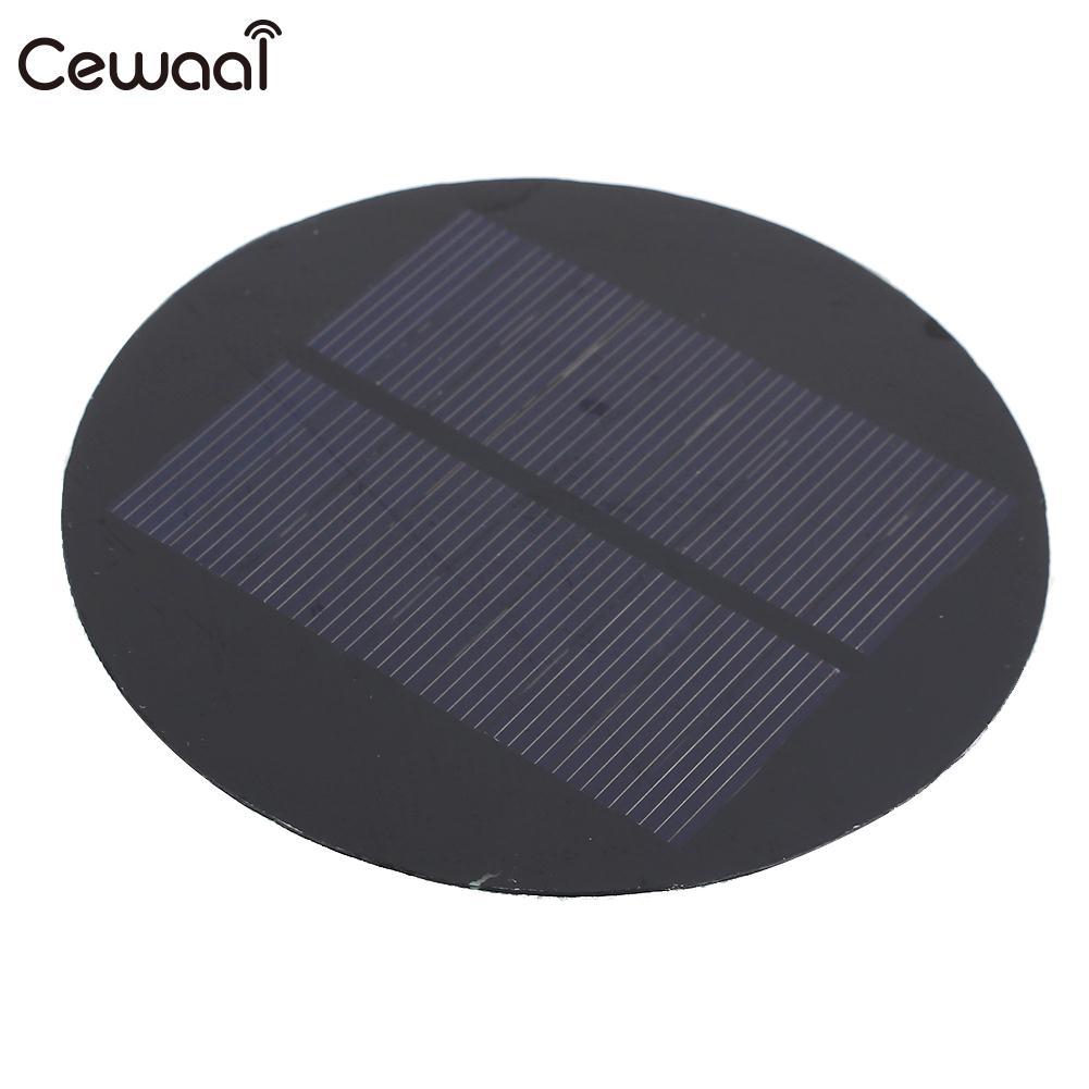 Cewaal, Mini batería de 4,5 V, 100MA, 0,45 W, cargador de batería Solar, Panel de carga Solar Diy de juguete, célula Solar duradera, Panel Solar de luz de jardín