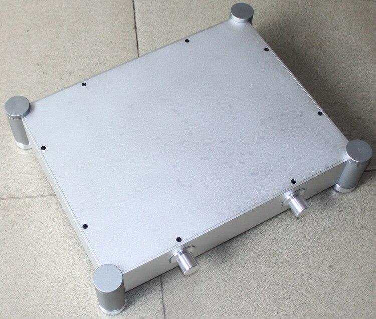 WA22-حاوية مكبر صوت من الألومنيوم بالكامل/علبة أمبير صغيرة/صندوق Preamp/هيكل PSU
