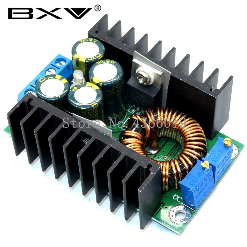 300W XL4016 DC-DC Max 9A Step Down Buck Converter 5-40V To 1.2-35V Adjustable Power Supply Module LE