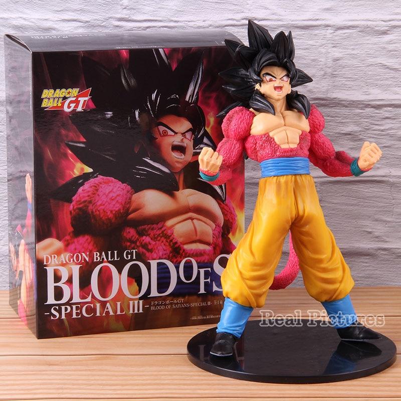 Bola de Dragón GT sangre de los Saiyajin especial III Son Goku SS4 Super Saiyan 4 Goku figura de PVC juguete de modelos coleccionables regalo