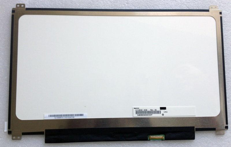 شاشة كمبيوتر محمول LCD LED مقاس 13.3 بوصة عالية الدقة 1366 × 768 بكسل ، مصفوفة شاشة نحيفة ، استبدال جديد