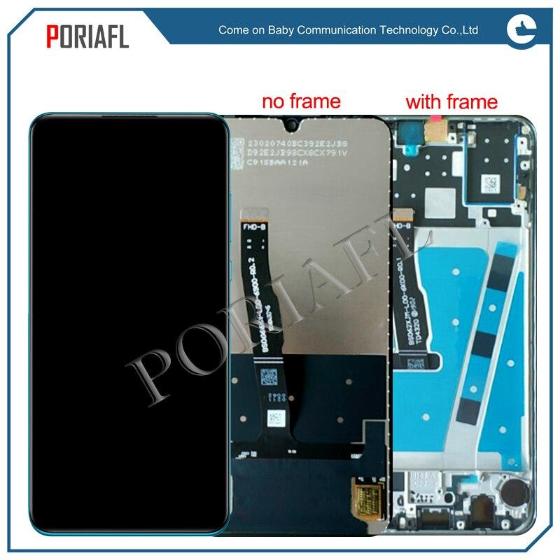 100% ok lpara Huawei P30 lite pantalla LCD + MONTAJE DE Digitalizador de Panel táctil con marco para Huawei P30lite lcd
