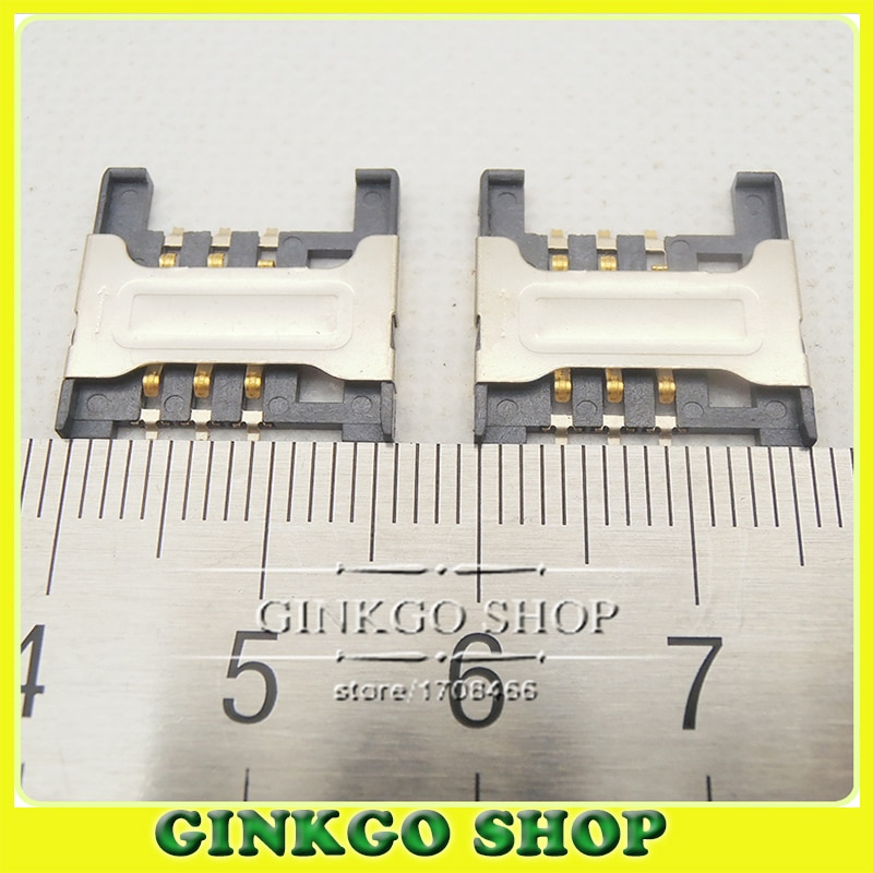 25 قطعة/الوحدة جديد SIM بطاقة موصل موصل بطاقة SIM حامل صينية حجم: 16.5*16.5 مللي متر