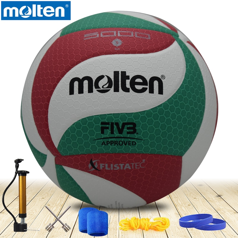 original molten volleyball V5M5000 NEW Brand High Quality Genuine Molten PU Material Official Size 5