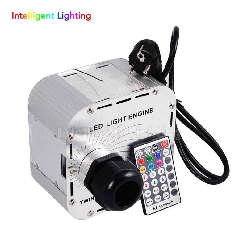 32W Twinkle Flash RGBW LED Fiber Optic Light engine 28key RF remote in sky stars,Multi-colored lights flashing beads+wheel