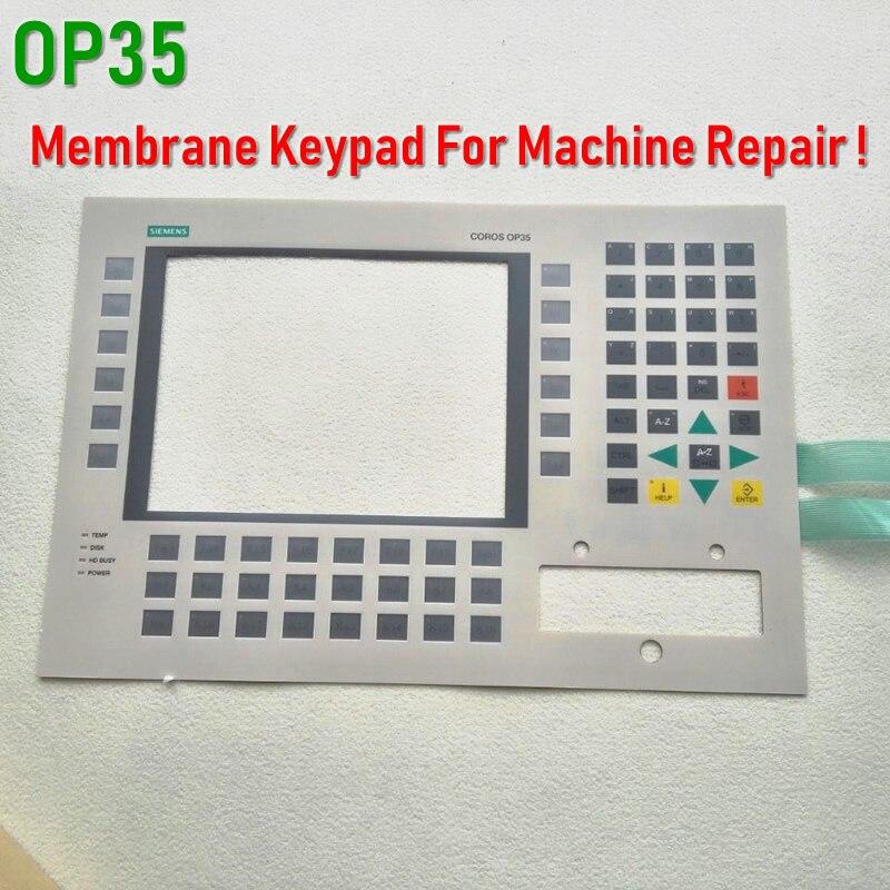 6AV3535-1FA41-0BX1 6AV3 535-1FA41-0BX1 OP35 لوحة مفاتيح غشائية ل SIMATIC HMI لوحة إصلاح ~ تفعل ذلك بنفسك ، دينا في المخزون