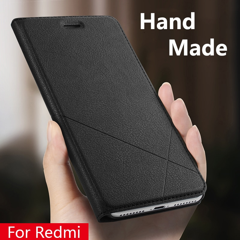 Hand Made For Xiaomi Redmi note 8 7 6 5 4x 5a Redmi 5 Plus K20 7 6a 6 Pro Y1 3s 4 pro 4a 5a Leather