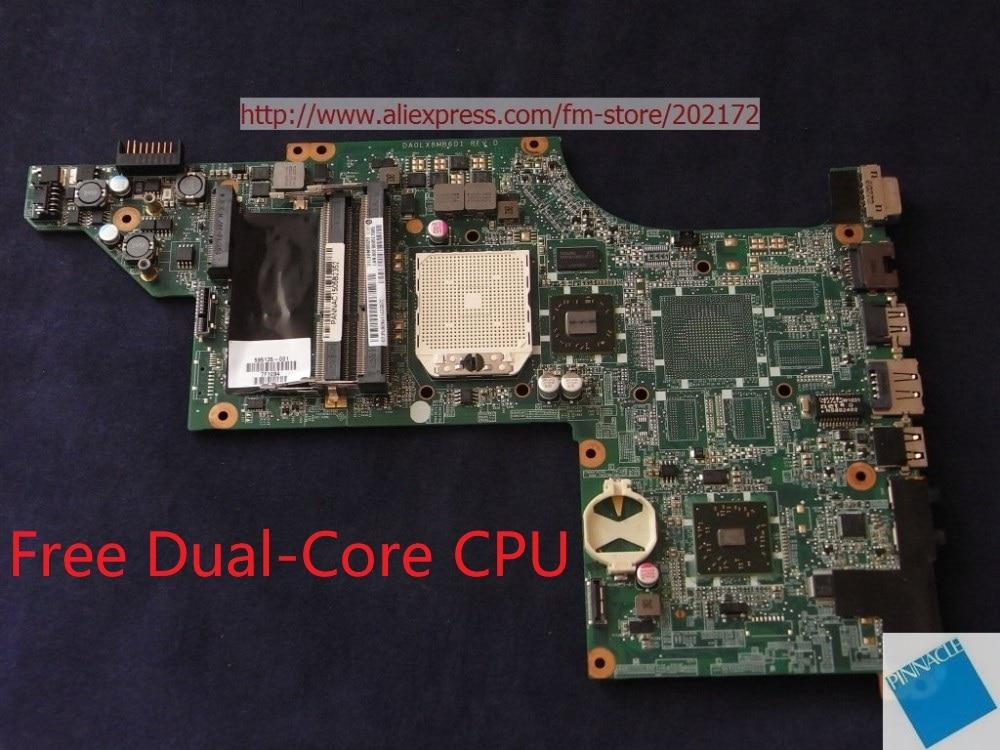595135-001 placa base para HP pabellón DV6 3000 DA0LX8MB6D1 31LX8MB0020