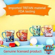 Patte patrouille brosse à dents Tritan 320ML   Brosse à dents, gobelets de boisson, gobelets de lavage, gobelets deau, pour enfants, apprentissage, tasse à boire, jouet chaud