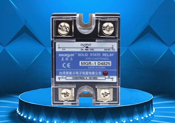SSR-60A MGR-1 D4860-Fase de relé de estado sólido DC AC control eléctrico/caja de control /DIY control accesorios