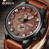 Relojes CURREN 8225 para hombre, relojes de pulsera resistentes al agua de alta marca de lujo, reloj a la moda para hombre, reloj de pulsera deportivo militar para hombre, Dropship