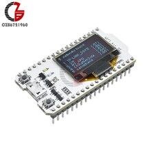 ESP32 Kit WIFI Bluetooth bleu OLED 0.96 pouces Module daffichage CP2102 32M Flash 3.3V-7V carte de développement Internet pour Arduino