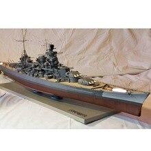 FAI DA TE di Carta del Mestiere 1:200 Harlem versione incrociatore da battaglia Scharnhorst 3D di carta modello di Nave Giocattolo Divertimenti Regali
