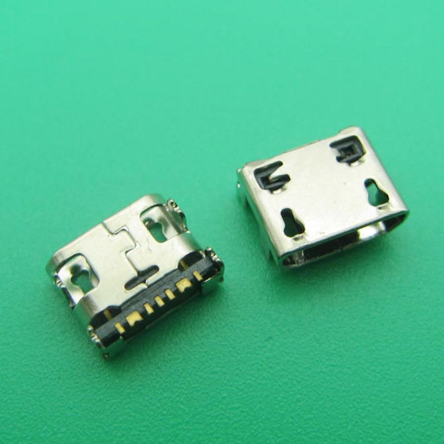 500 adet mikro usb jak soketi samsung için konektör G130H G318 G310HN G313F G313H G313HD G313HN G313HU Galaxy Ace 4 Duos