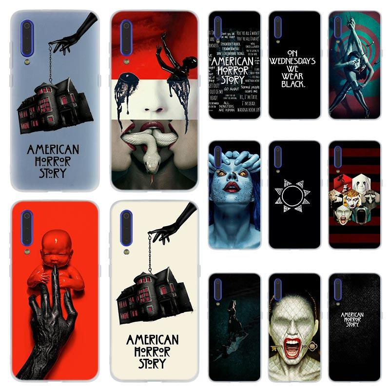 MLLSE de Historia de terror americano miedo funda de teléfono para Xiaomi mi 9 8 A2 Lite SE A1 pocophone f1 6 6X 5X MAX 3 mi X 2S mi 9 mi 8