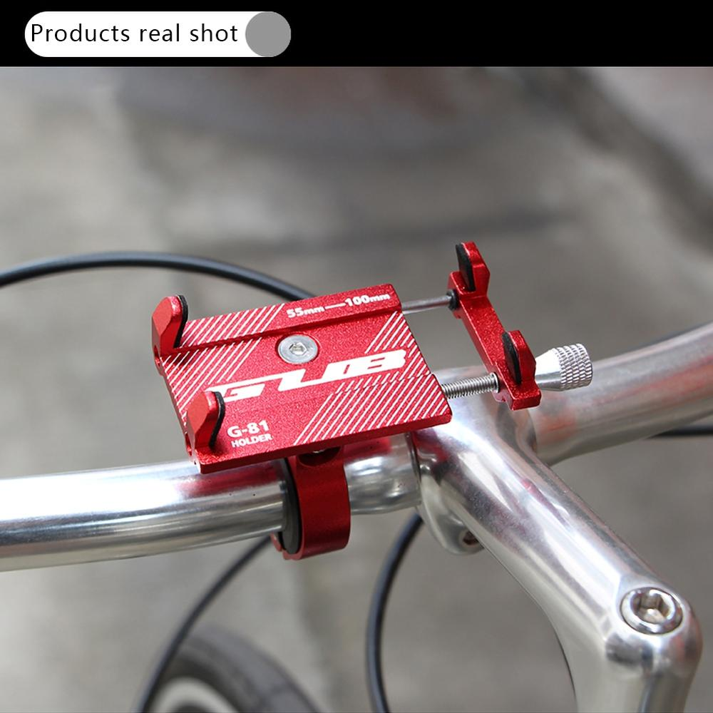 Universal Scooter eléctrico ajustable antideslizante soporte para teléfono móvil soporte de montaje
