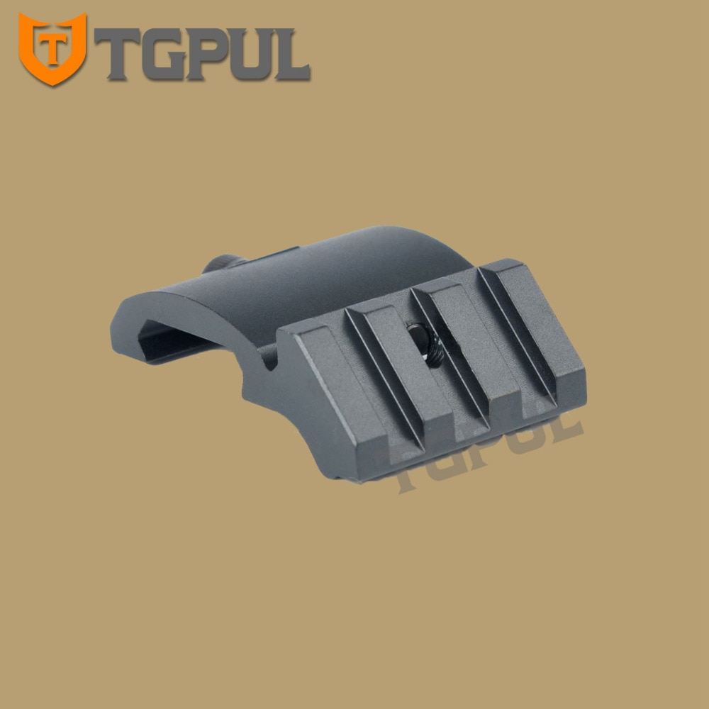 TGPUL Ultra bajo perfil de montaje riel Picatinny 45 grado 3 ranura 20mm adaptador Weaver AR 15 alcance punto rojo lupa Flashligh