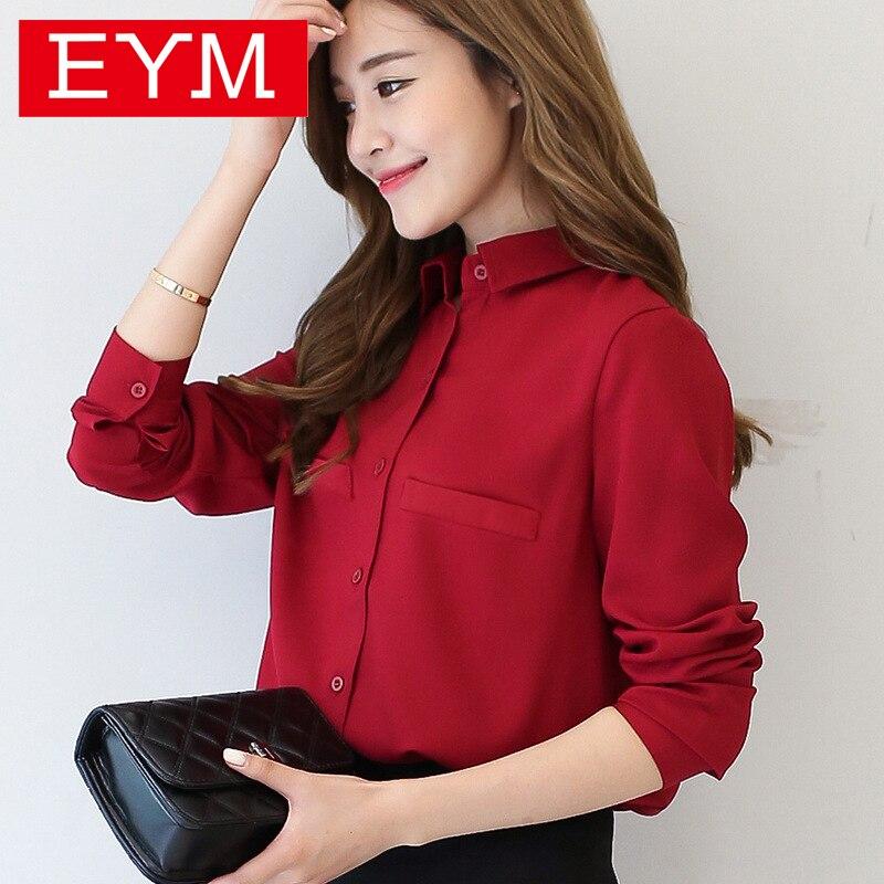 Blusa de mujer de marca 2020, nueva camisa informal de manga larga para mujer, Blusas de talla grande, camisas de oficina estilo OL para mujer, Blusas