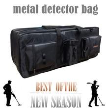 Avantage extérieur grande capacité transportant le sac de détecteur de métal pour le sac de détection de métal outil de stockage sac de pelle sac à dos toile