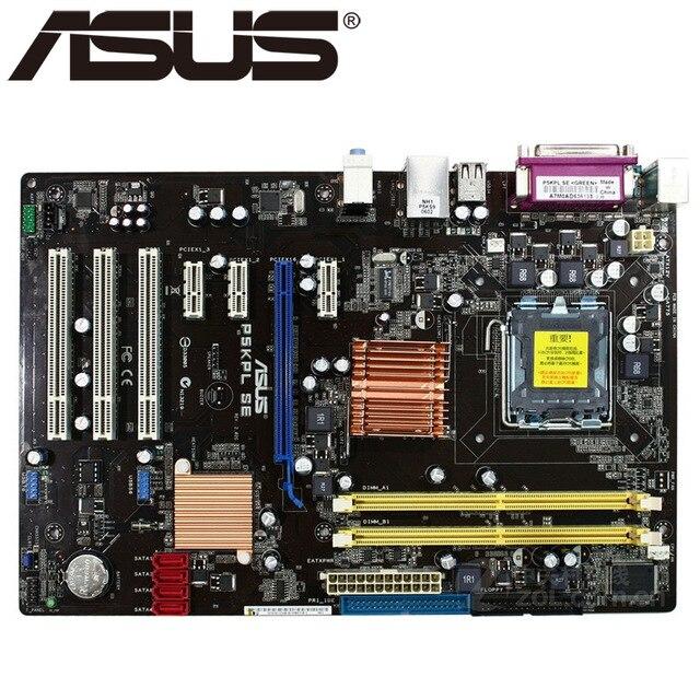Original placa base para P5KPL SE DDR2 LGA 775 para Core Pentium...