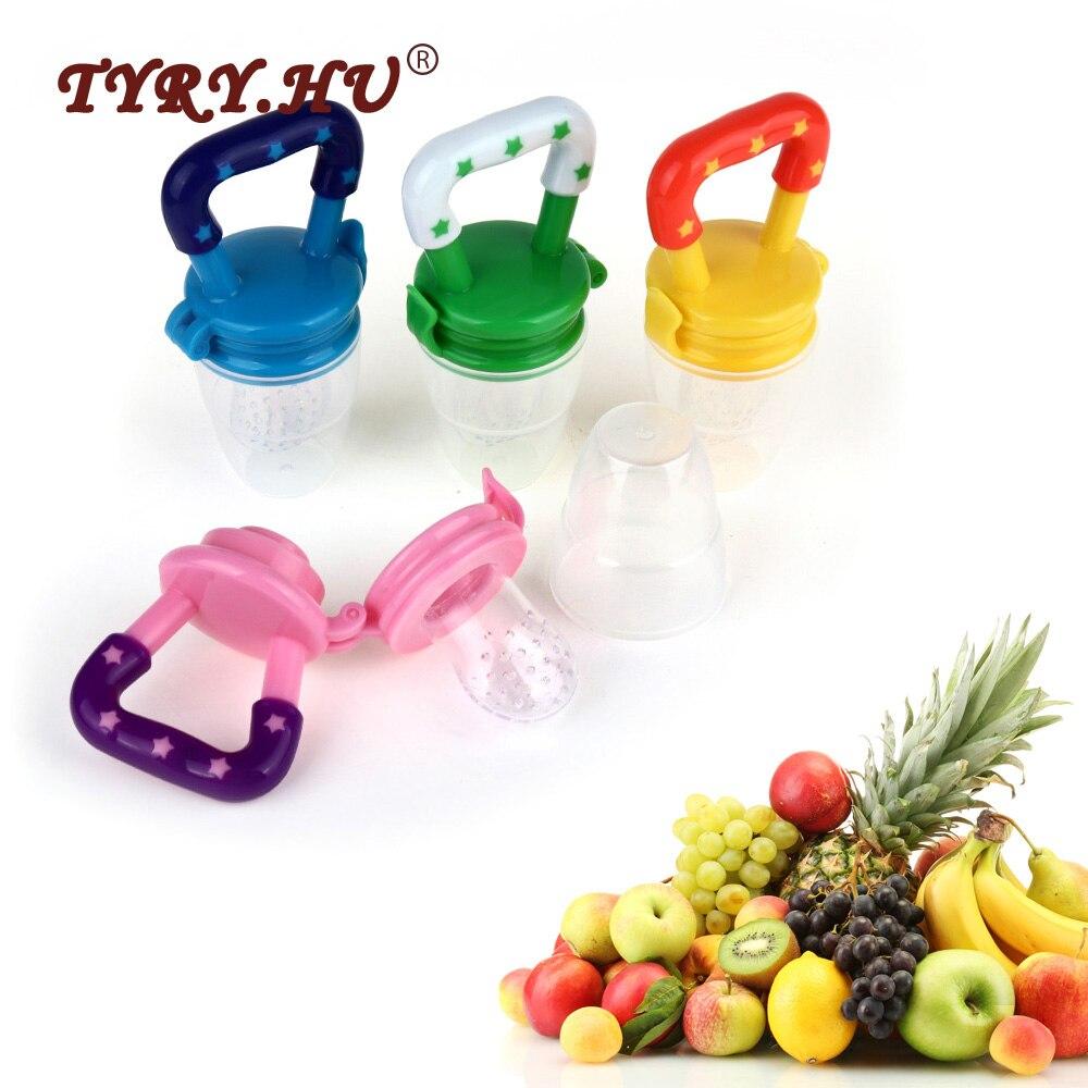 TYRY.HU Fruits Nipple Teether 1Pc Silicone Mordedor Feeding Food Grade Baby Teething Pacifier BPA Free For Newborn Oral Care