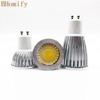 super bright gu10 e27 gu5 3 led bulbs light dimmable led warmwhite 85 265v 6w 9w 12w gu10 cob led lamp light gu10 led spotlight