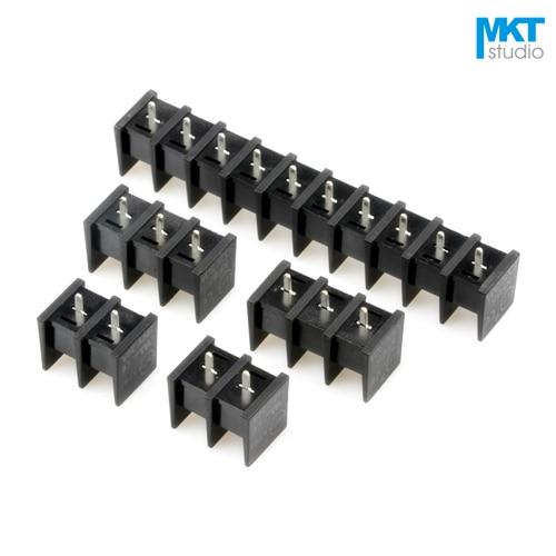 100 Stücke 5 P 10mm Rastermaß B-Typ Gerade Pins PCB Elektro Schraubklemmenblock