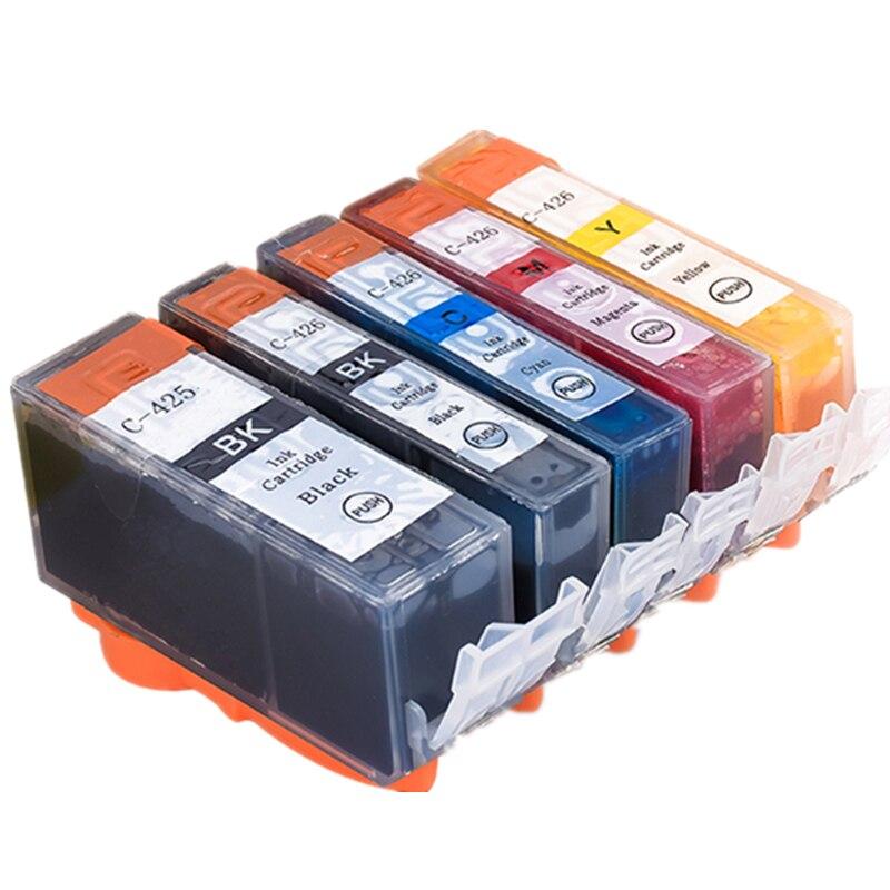 Cli 426 para Canon Pgi-425 cartucho de tinta para impressora Canon IP4840 MG5140 MG6140 PIXMA MG5240/8140/MX884/IX6540 pgi425 cli426