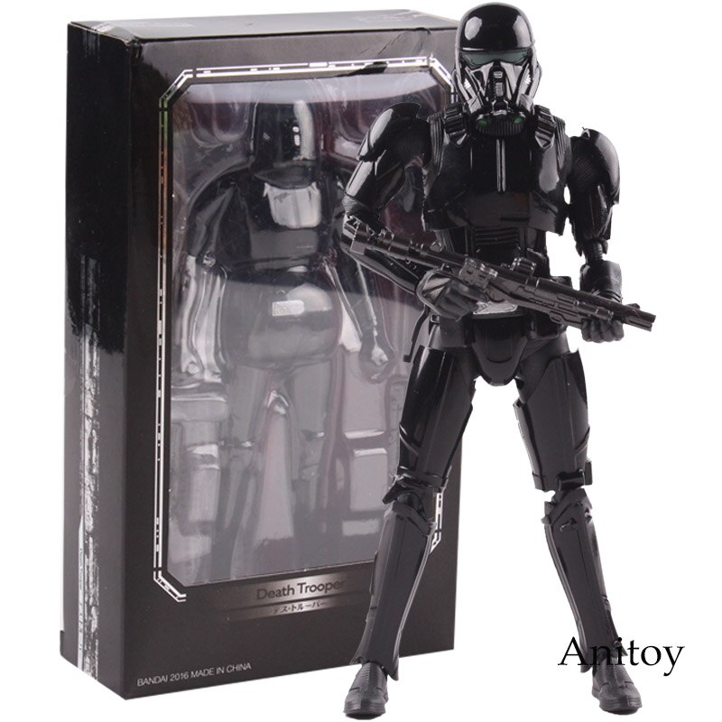 SHF Star Wars Figur Death Trooper PVC Action Figure Sammeln Modell Spielzeug 15cm