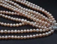 wholesale 10 strands 6 7mm pink freshwater pearl jewelry