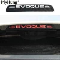 carbon fiber additonal brake light sticker decorative cases for land rover evoque stop lamp decorating sticker car styling