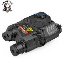 PEQ-15 blanche tactique de Laser de point rouge dan/lampe de poche LED 270 Lumens pour le boîtier Standard de batterie de fusil de chasse de Vision nocturne de Rail de 20mm