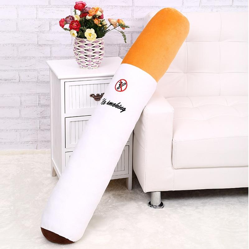 ¡Envío gratis! Cigarrillo de alta calidad de una pieza de 50CM, peluche supersuave de algodón PP, muñecos rellenos, regalos de cumpleaños para novio