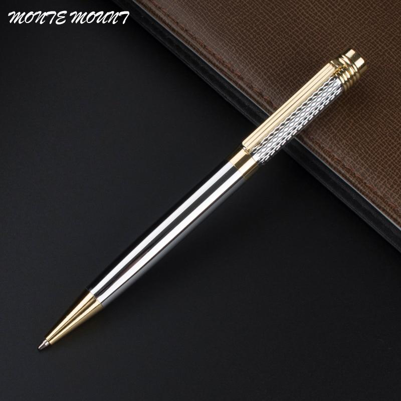 Luxury high quality you 856 Gold Colour School supplies office Medium nib Ballpoint Pen New