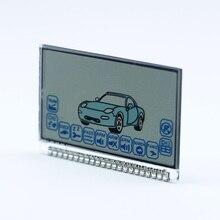 Version russe A6 Lcd   Écran pour starline A6 lcd, deux voies, alarme de voiture, télécommande de télécommande, livraison gratuite