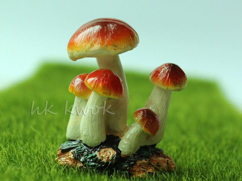 Fairy Garden Miniatures Mini Garden Decorations Accessories Resin Crafts DIY Bonsai Figurines Mushroom Dollhouse Miniatures
