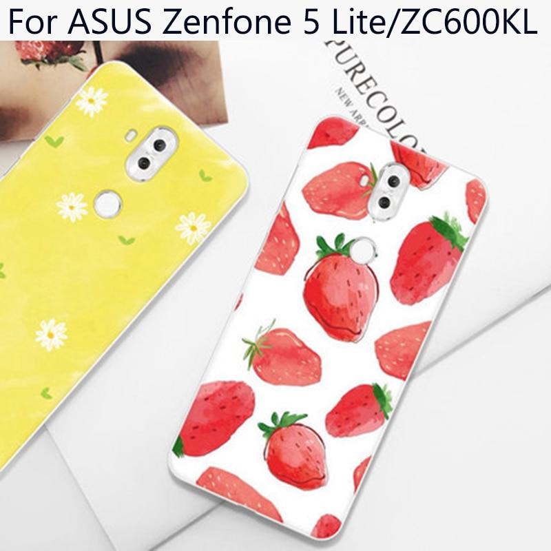 Funda para ASUS Zenfone 5 Lite 5 Lite, funda con bonitos dibujos animados, fundas suaves para ASUS ZenFone ZC600KL, funda Zenfone5 Lite, fundas