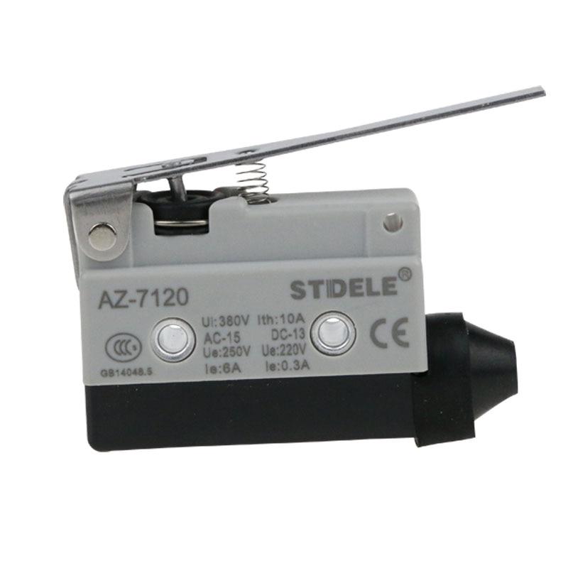 1 piezas STDELE microinterruptor AZ-7120 pequeño trazo horizontal interruptor de límite de reinicio
