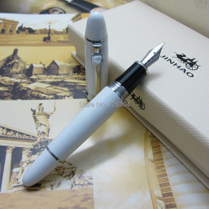 7 Colors Optional Fountain Pen Jinhao 159 Black Silver Clip Live Large and heavy metal gift pen Taipan office