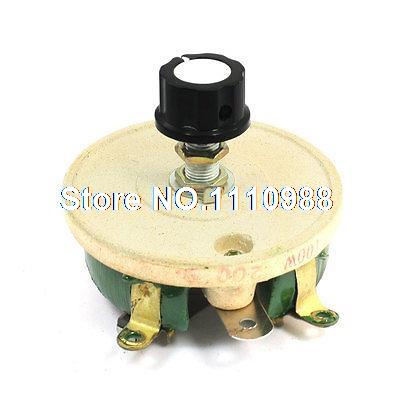 Wirewound Ceramic Potentiometer Variable Rheostat Resistor 100W 200 Ohm