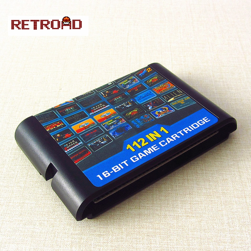 112 in 1 Spiel Karte für Sega Megadrive Genesis mit Spiel Contra Vectorman Double Dragon Battletoads Ninja Gaiden Turtles Sonic
