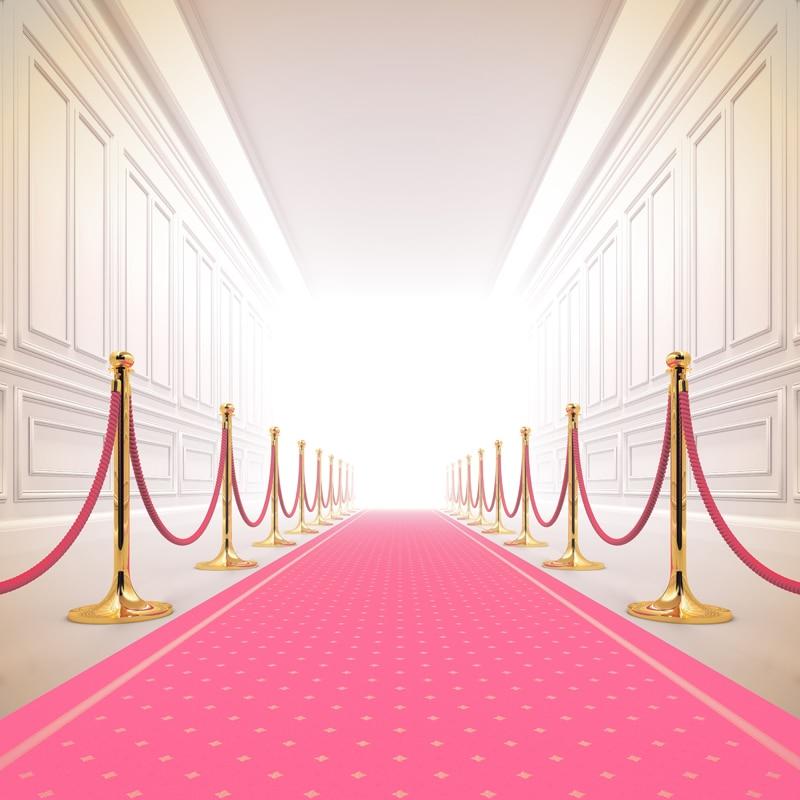 Tela artística huayi alfombra roja Fondo fotografía boda para recién nacido Fondo XT-5535