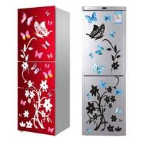 Креативная наклейка бабочка на холодильник домашняя отделка кухни настенные наклейки «сделай сам» Вечеринка стикер обои для детской комна...