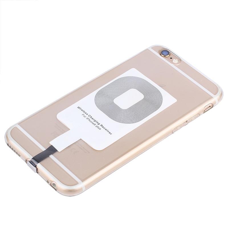 Para iPhone 6 6S 6plus 7 7plus 5 5S 5C Receptor de Cargador Inalámbrico Módulo de parche QI estándar de recepción inalámbrica parche de carga A20