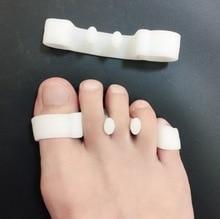 by dhl 200pairs Adjuster Bone Foot Care Sock Hallux Valgus Bow Leg Pedicure Orthopedic Bunion Corrector Toe Separator