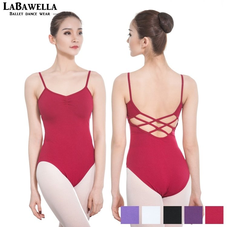 Adulto ballet collant preto algodão lycra feminino dança ginástica collants para meninas cami lilás ballet bodysuit dança costumecs0715