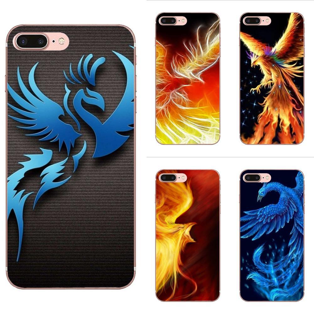 Soft Cases Skin For HTC 530 626 628 630 816 820 One A9 M7 M8 M9 M10 E9 U11 Moto G G2 G3 G4 G5 G6 G7 Fashion Game Phoenix Dota 2