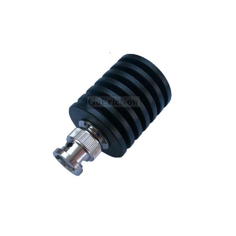 1 Uds Coaxial de RF 10W de conector macho BNC 50 ohm DC-3GHz carga ficticia macho